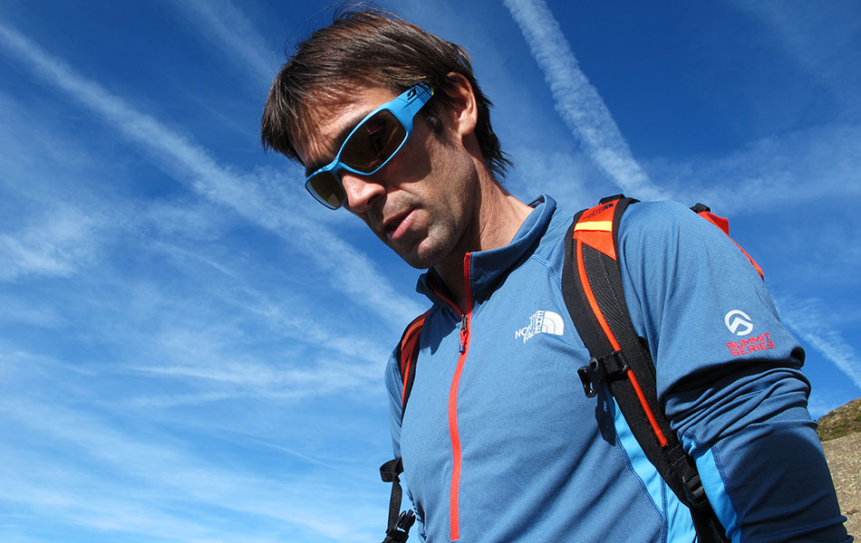 Hervé Barmasse. IMS Walk Day 2014 alla Plose (©ph. Teddy Soppelsa)