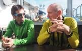 Hervé Barmasse e Teddy Soppelsa. IMS Walk Day 2014 alla Plose (©ph. Matteo Zanga)