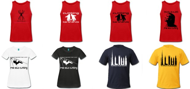 Alain ROBERT The french spiderman Merchandising - http://alainrobert.spreadshirt.fr