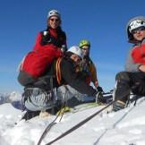 In vetta al Golovec, 2285 m