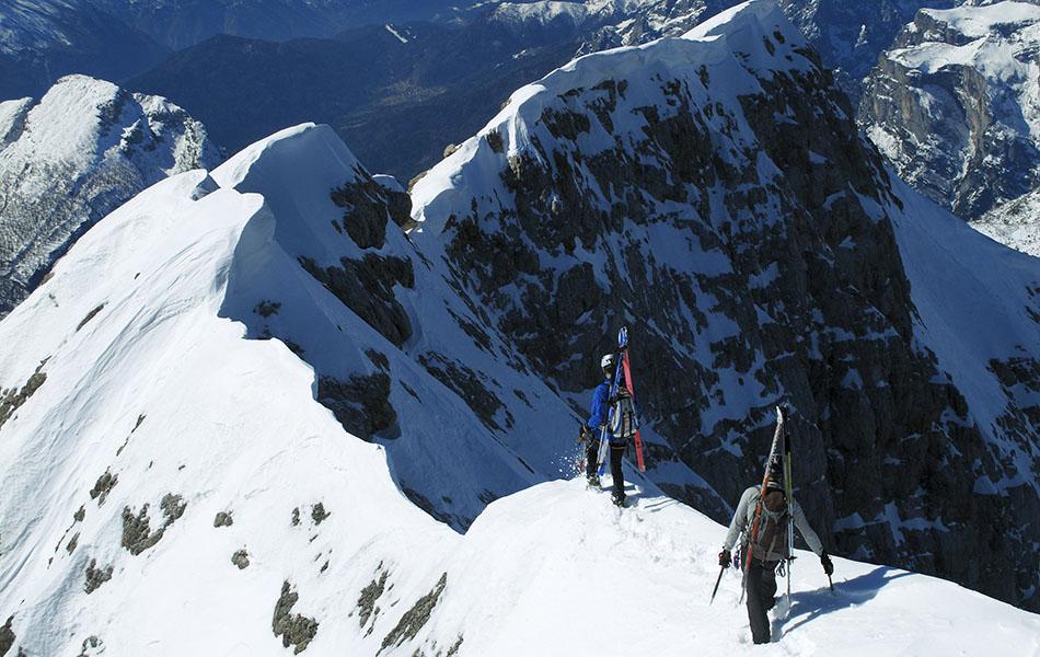 10. Inizio della lunga cresta verso la Cima De Toni (ph. Loris De Barba)