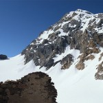 Il Gran Zebrù e il Colle delle Pale Rosse
