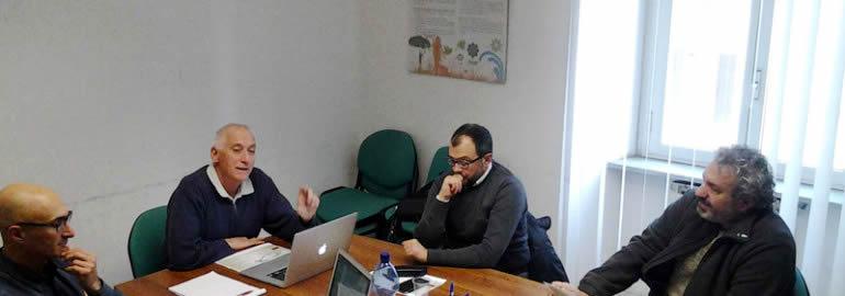 Il tavolo di lavoro:   Collegio Nazionale Guide Alpine Italiane e AIGAE (dicembre 2015)