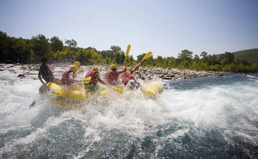 Rafting sul fiume Noce - www.trentinowild.it
