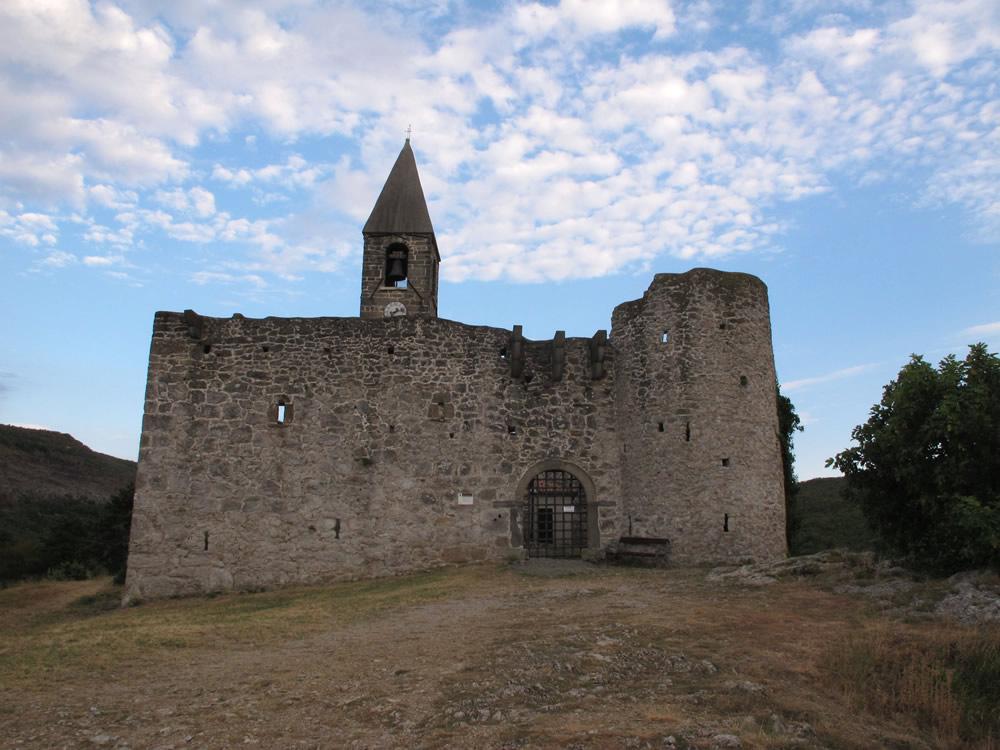 La chiesa di Hrastovlje in Istria