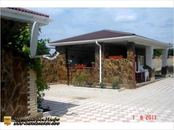 Гостиница Ласточка пгт Черноморское Крым