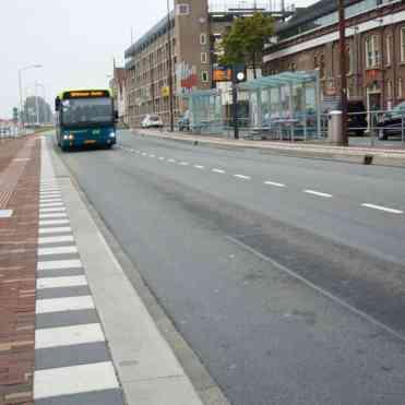 Even opschieten met de bus