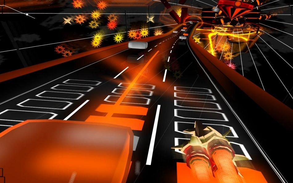 Audiosurf-orange_gameplay