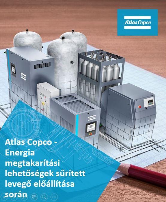 Atlas Copco: Energia megtakarítási lehetőségek sűrített levegő előállítása során