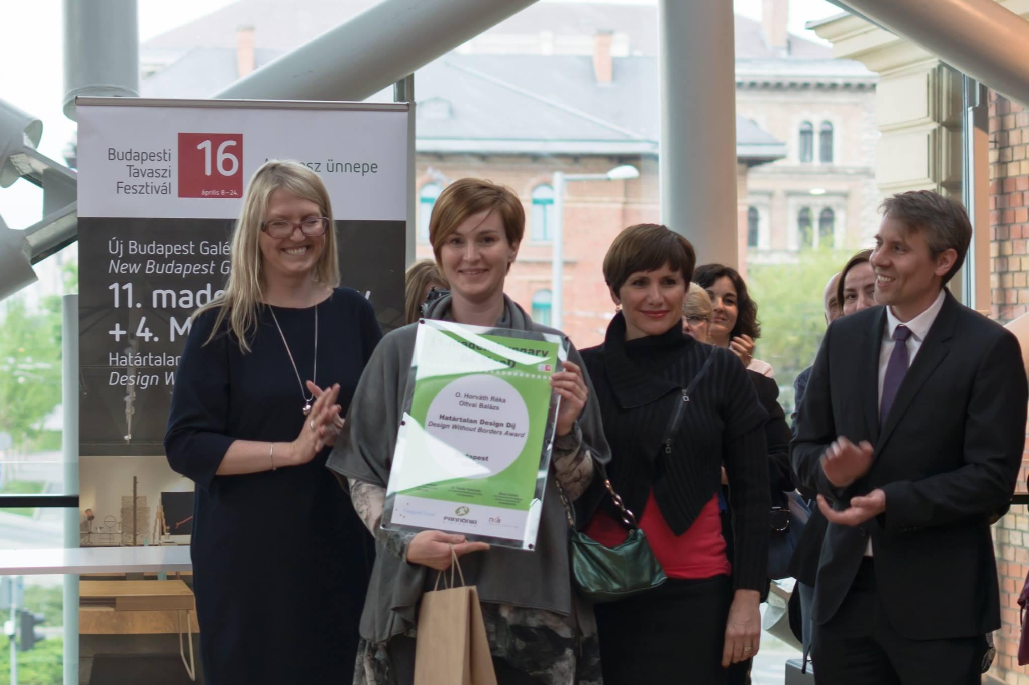 Nemzetközi design kiállítás és díjátadó