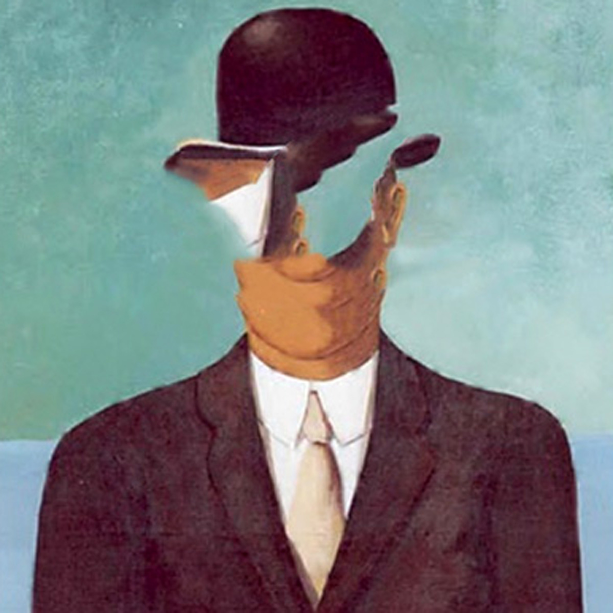 Magritte vs Photoshop Content Aware
