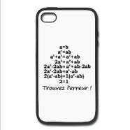 Coques de portables et tablettes humour maths