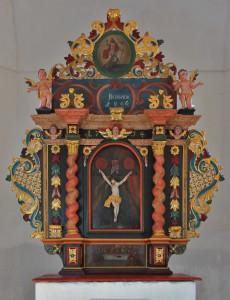 Brdárka, oltár, foto M. Detko
