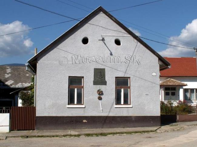 Pamätná izba v Slavošovciach
