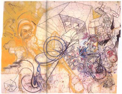 Image result for sigmar polke mixed media