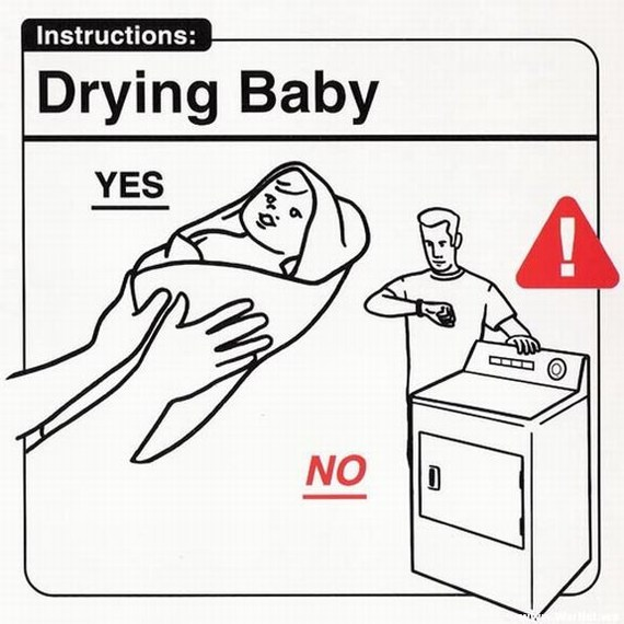 Image result for comical instructions