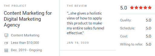 LMNts Marketing Earns New Five-Star Review
