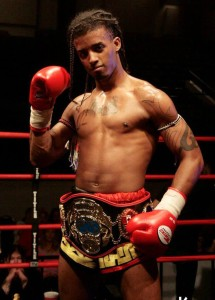 DJ miller muay thai fighter