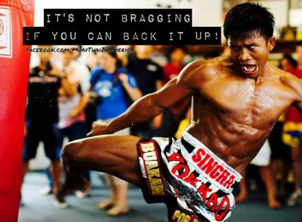 buakaw heavy bag training drills and workouts