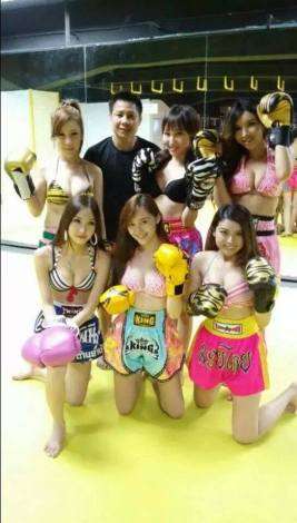 sexy muay thai girls
