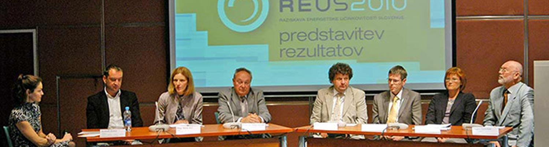 Predstavitev REUS 2010 / Raziskava REUS