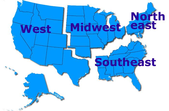 FTA Regional Sections