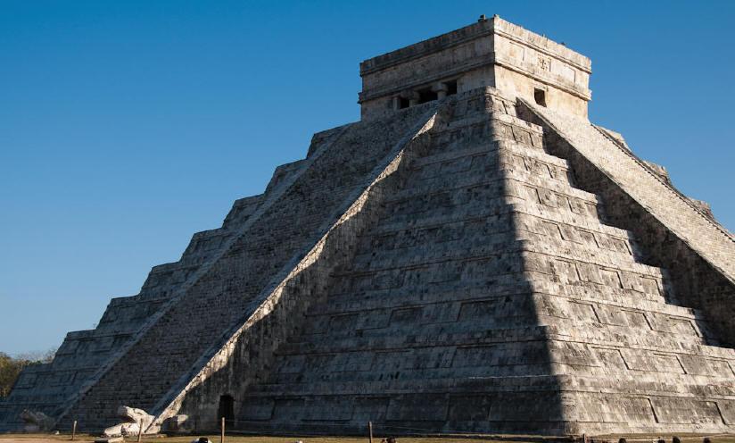 Chichen Itza: El Castillo, Pyramid of Kukulkan