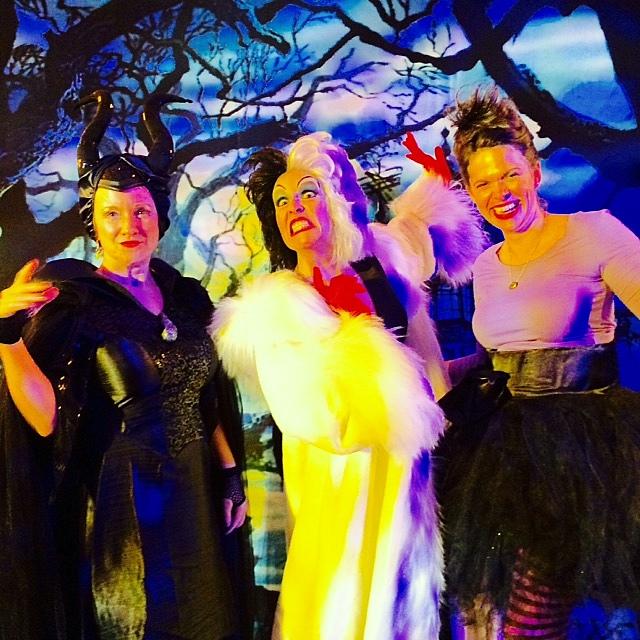 Myself, the Cruella di Vil actress, and Tracy