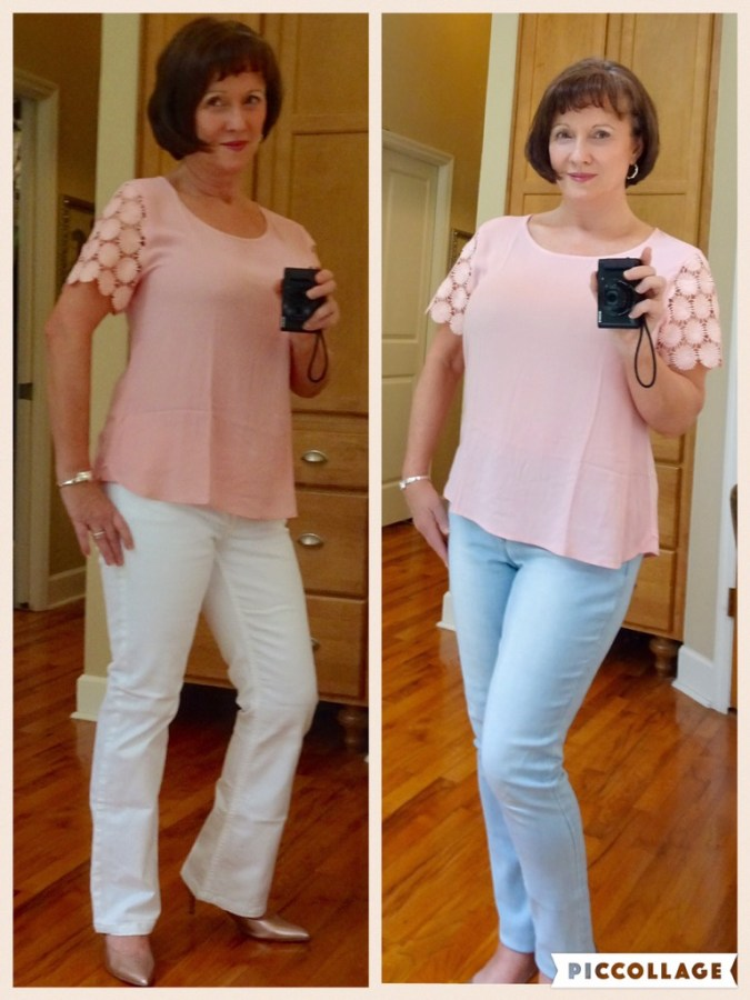 Stitch Fix Crochet Blouse