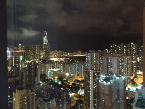 Kowloon skyline at night