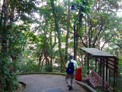 Path to Victoria Peak