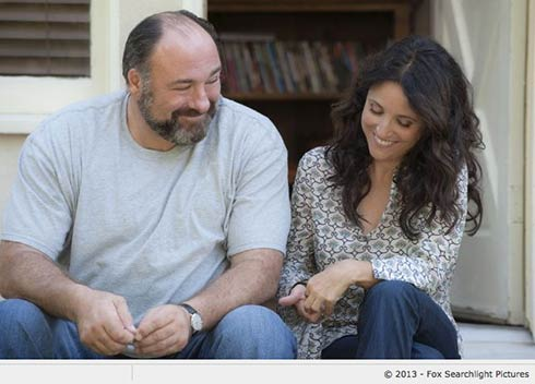 James Gandolfini and Julia Louis Dreyfus