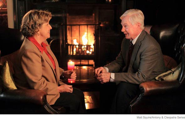 Anne Reid and Derek Jacobi