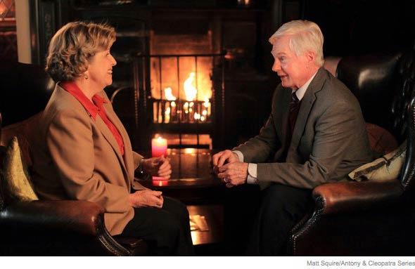 Anne Reid and Derek Jacobi