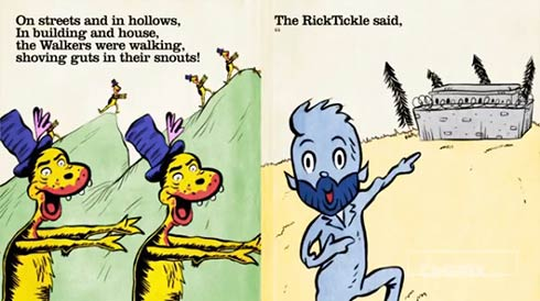 The Walking Dead Dr. Seuss Style (Video)