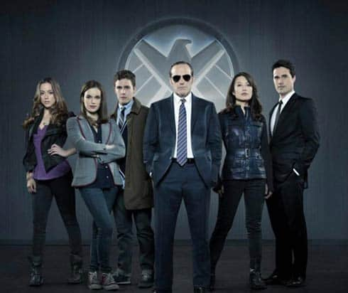Marvel Agents of S.H.I.E.L.D. cast.