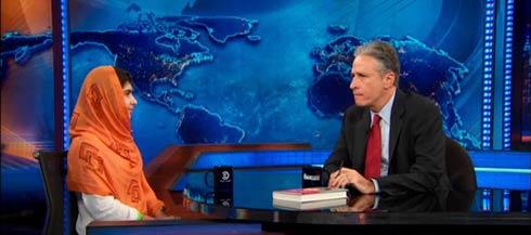 Jon Stewart's Interview with Malala