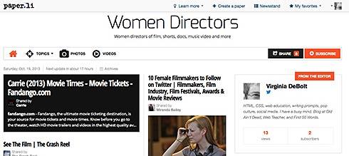 women directors daily