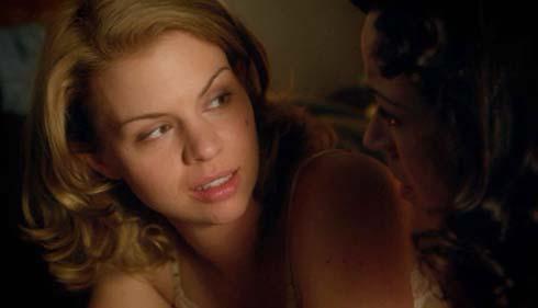 Ali Liebert as Betty and Rachel Wilson as Teresa
