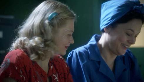 Vera and Lorna working together