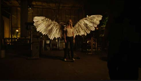 The Valkyrie has her wings.