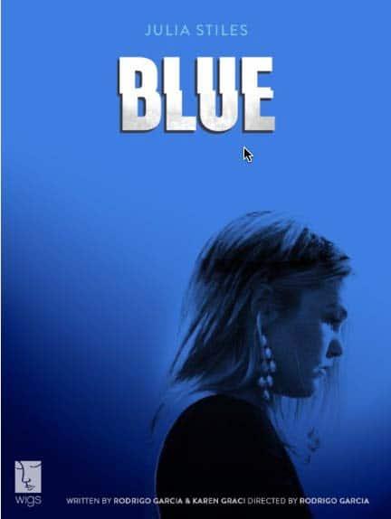 Blue poster © WIGSCO, LLC