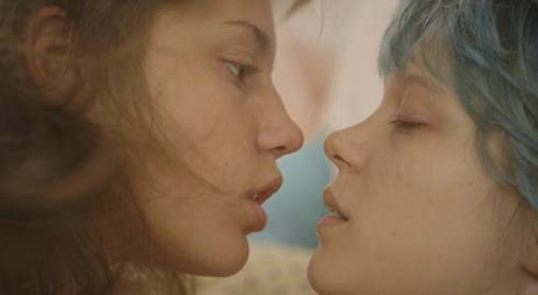 Adèle Exarchopoulos and Léa Seydoux in Blue is the Warmest Color
