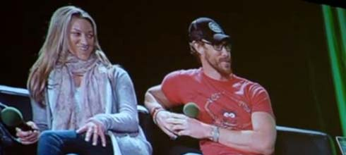 Zoie Palmer and Kris Holden-Ried