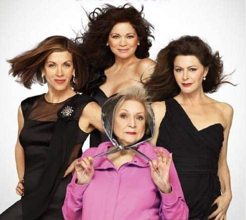The central cast of Hot in Cleveland