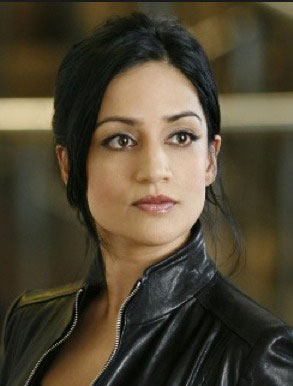 The awesome Archie Panjabi as Kalinda Sharma