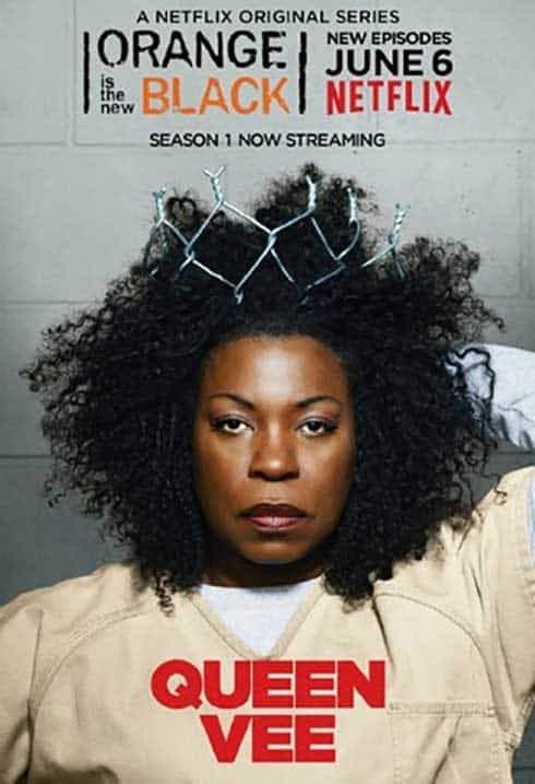 Orange is the New Black poster for the character Vee.