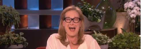 Meryl Streep on the Ellen Show