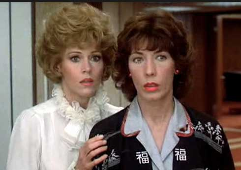 Jane Fonda and Lily Tomlin in 9 to 5.