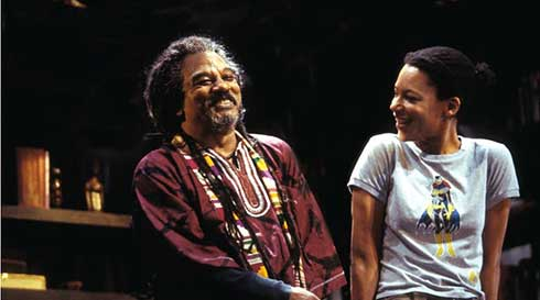 Jeffery Kissoon and Nina Sosanya in National Theatre production of Fix Up